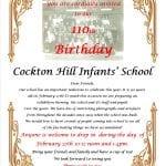110th Birthday Invitation